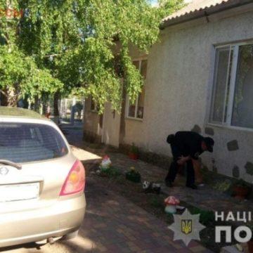 В Одесской области во дворе частного дома разорвалась граната (фото)