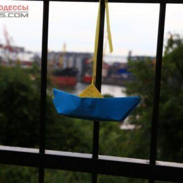 В Одессе снова поддержали находящихся в РФ пленных украинских моряков