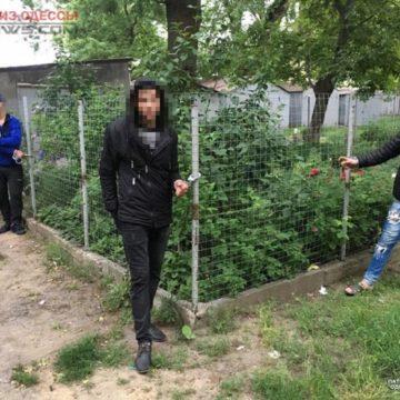 В Одессе полицейские задержали «на горячем» трех воров