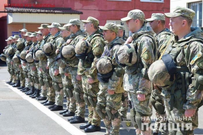 Одесских правоохранителей отправили в зону ООС